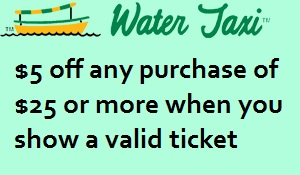Water Taxi coupon
