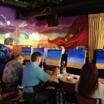 Painting with a Twist at Fishtales 1